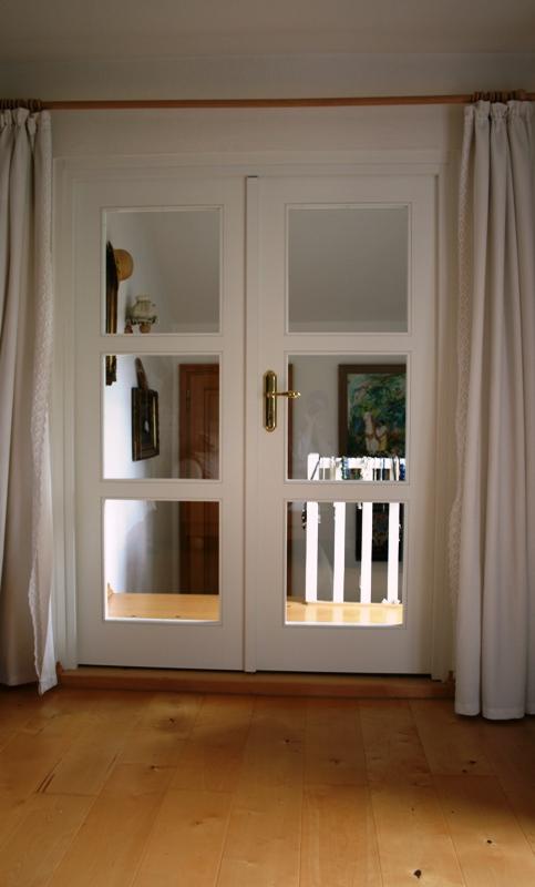 Tür in Weißlack
